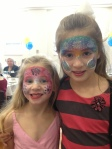 This party had everything - even face painting for the young and older